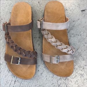 Shoes - Taupe Sandals